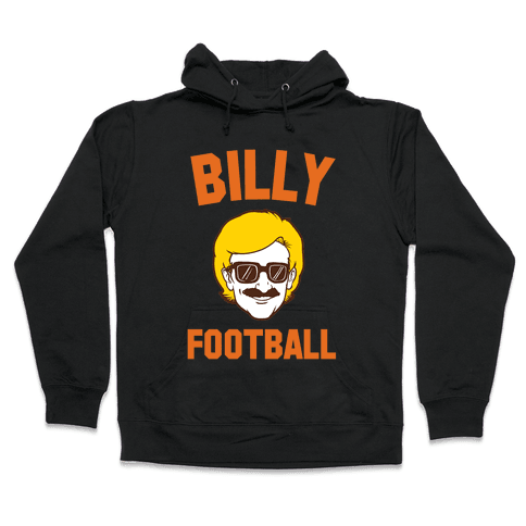 Billy Football Hooded Sweatshirt