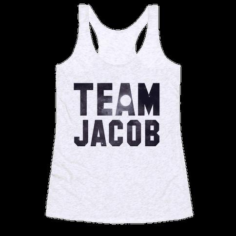 Team Jacob Racerback Tank Top