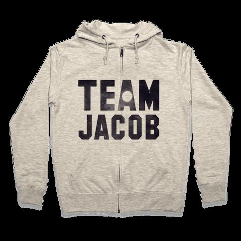 Team Jacob Zip Hoodie