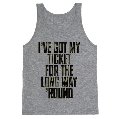 Tickets Tank Top