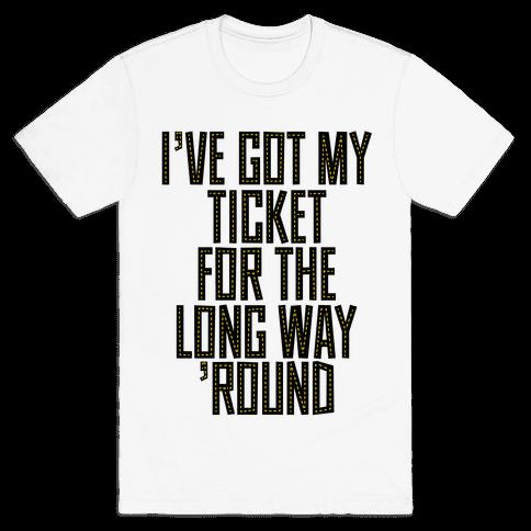 Tickets Mens T-Shirt
