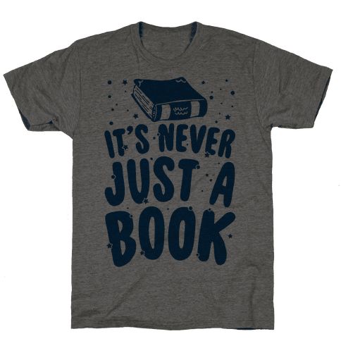 It's Never Just A Book