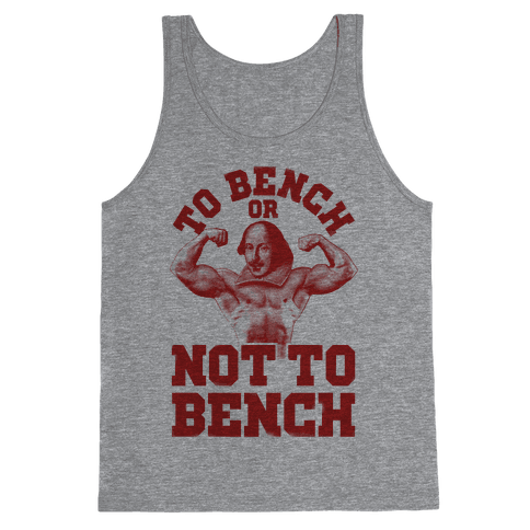 To Bench Or Not To Bench