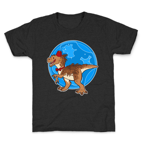 Dinosaur Doctor Who Kids T-Shirt