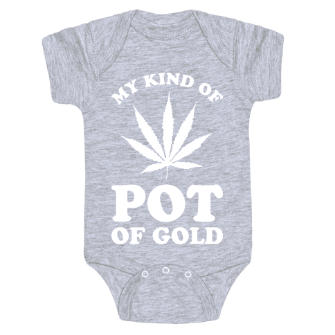 My Kind of Pot of Gold Baby Onesy