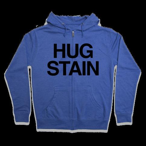Hug Stain Zip Hoodie
