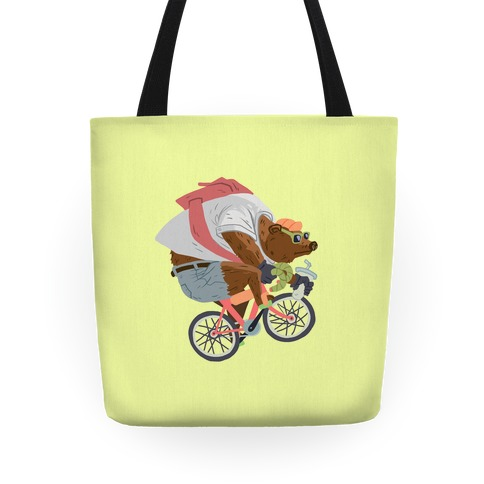 Fixed Gear Bear Tote