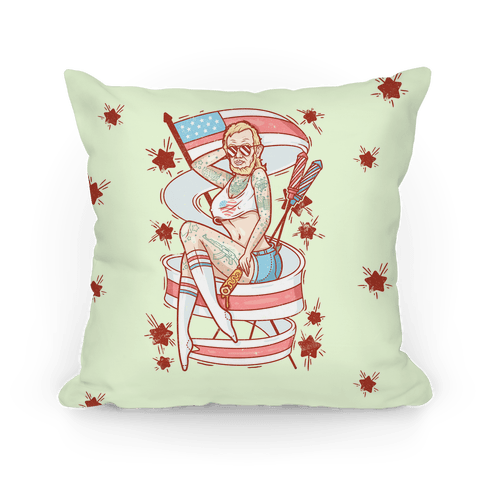 Baberaham Lincoln Pillow