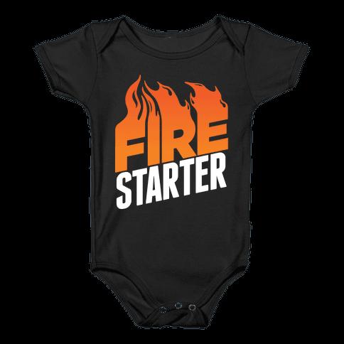 Fire Starter Baby Onesy