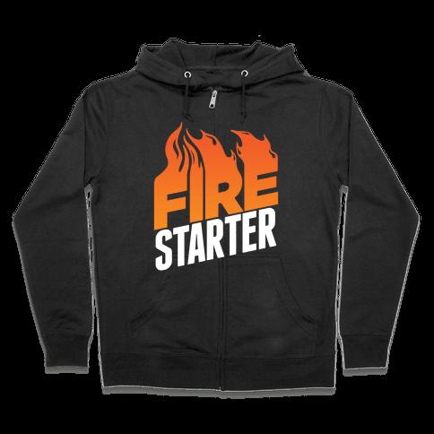 Fire Starter Zip Hoodie