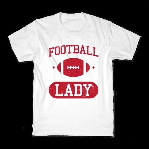 Football Lady Kids T-Shirt