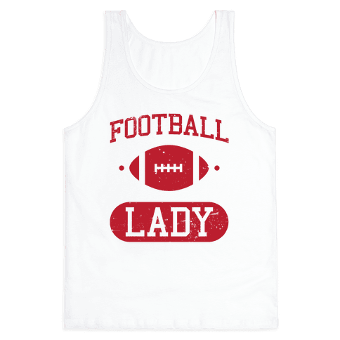 Football Lady Tank Top