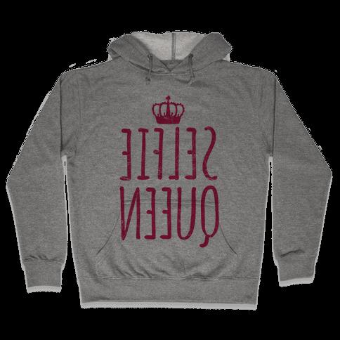 Selfie Queen Hooded Sweatshirt