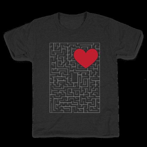 Maze to my heart Kids T-Shirt