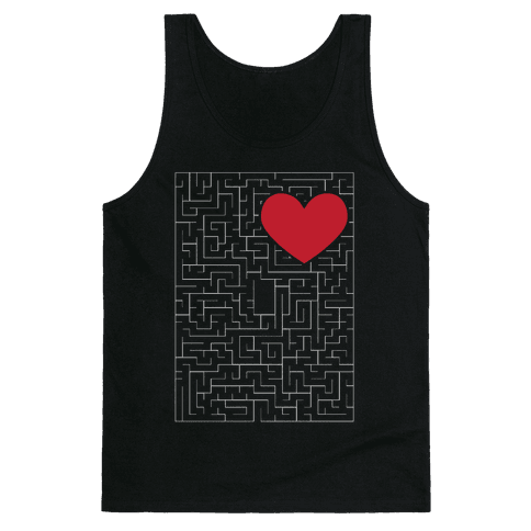 Maze to my heart Tank Top