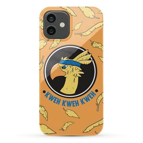 Chocobo Kweh Kweh Kweh Phone Case