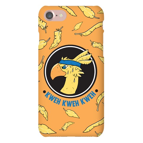 Chocobo Kweh Kweh Kweh Phone Case