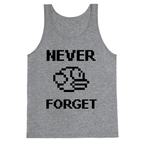Never Forget (Flappy Bird) Tank Top