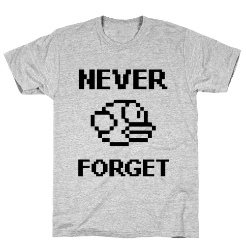 Never Forget (Flappy Bird) Mens T-Shirt