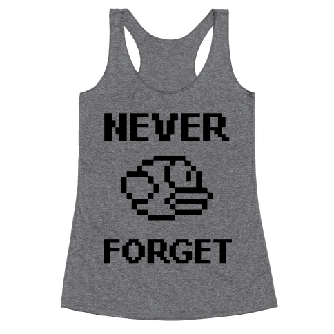 Never Forget (Flappy Bird) Racerback Tank Top