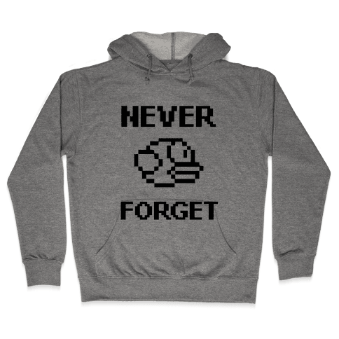 Never Forget (Flappy Bird) Hooded Sweatshirt