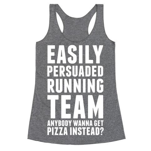 Easily Persuaded Running Team Racerback Tank Top
