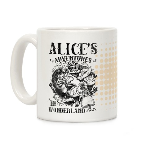 Alice's Adventures in Wonderland Coffee Mug