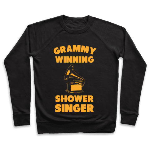 Grammy Winning Shower Singer Pullover
