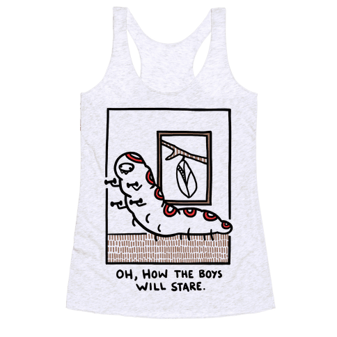 Oh, How The Boys Will Stare Racerback Tank Top