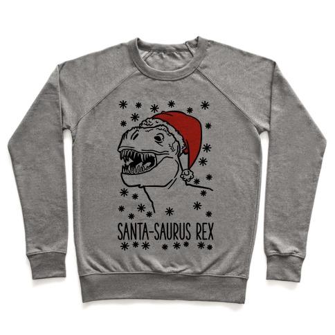 Santa-Saurus Rex Pullover