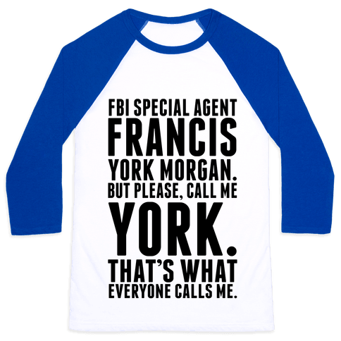 Francis York Morgan Baseball Tee