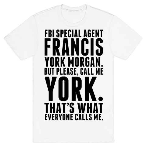Francis York Morgan Mens T-Shirt