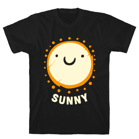 Sun & Grumpy Cloud (Part 2) Mens T-Shirt