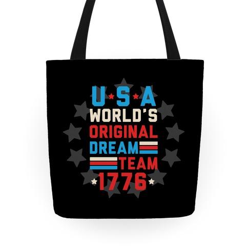 USA World's Original Dream Team 1776 Tote