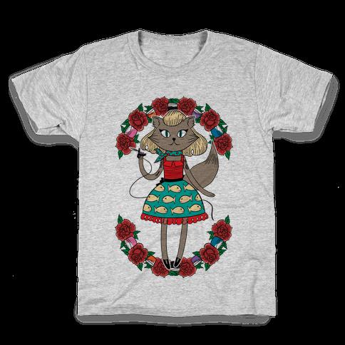 Tattooed Kitty Kids T-Shirt