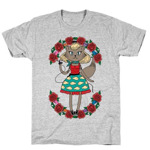 Tattooed Kitty T-Shirt