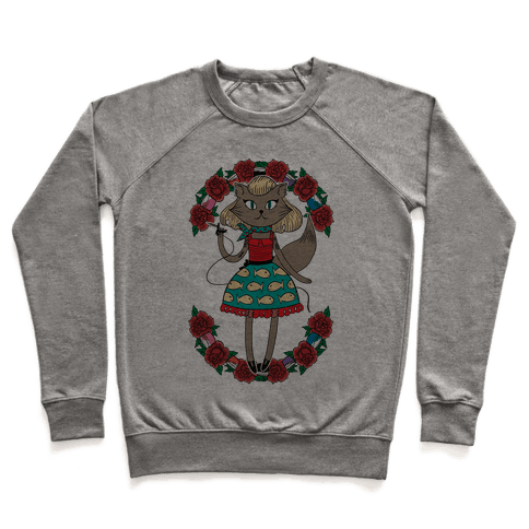 Tattooed Kitty Pullover