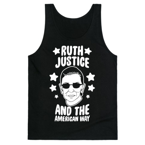 Ruth, Justice, And The American Way Tank Top