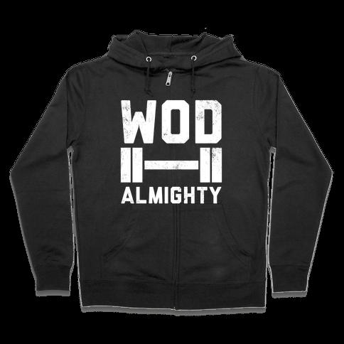 WOD Almighty Zip Hoodie