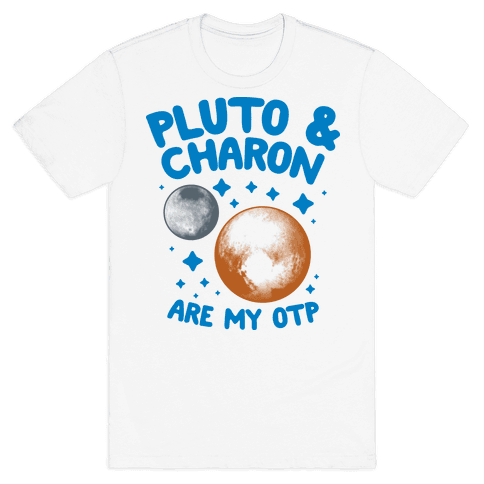 Pluto & Charon Are My OTP Mens T-Shirt