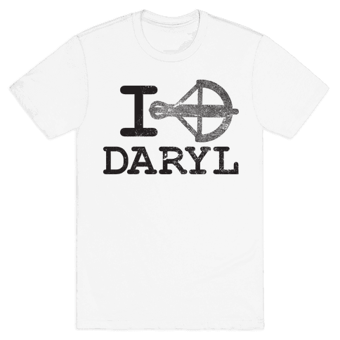 Crossbow Daryl Glo Mens T-Shirt