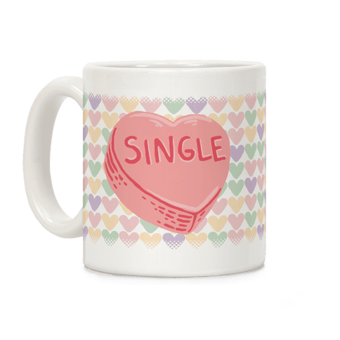 Single Conversation Heart Coffee Mug