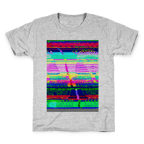 Glitch Art Kids T-Shirt