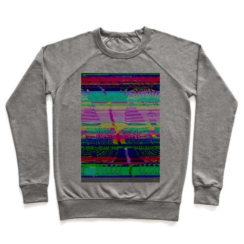 Glitch Art Pullover