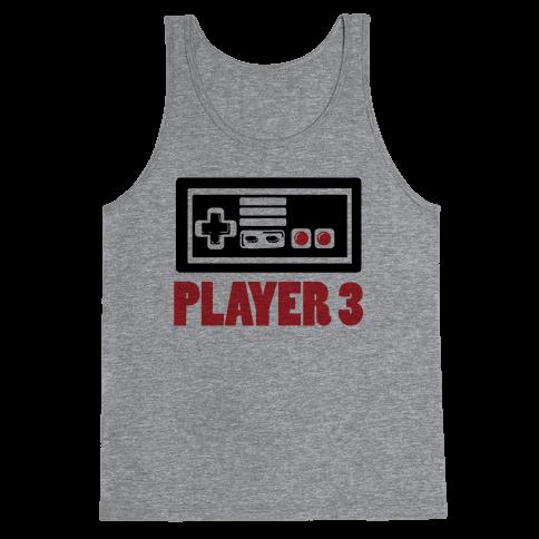 Player 3 Tank Top