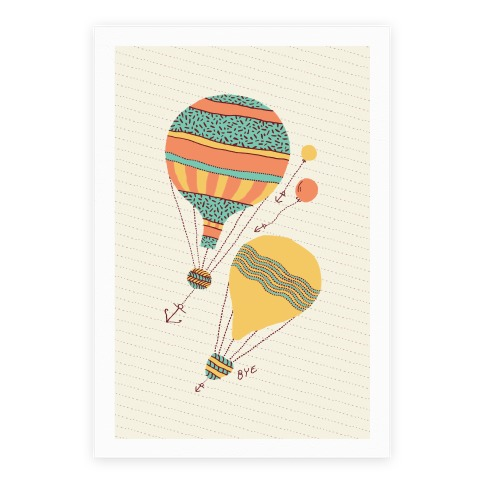 Balloon Flight Poster