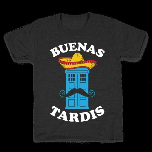 Buenas Tardis Kids T-Shirt