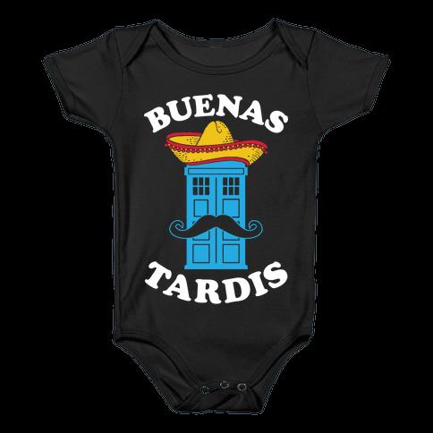 Buenas Tardis Baby Onesy