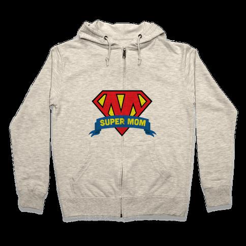 Super Mom Zip Hoodie