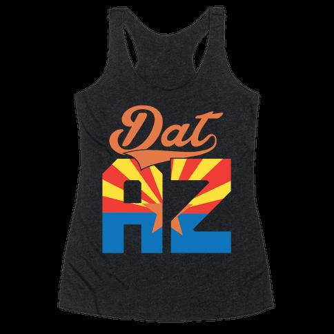 Dat AZ Racerback Tank Top